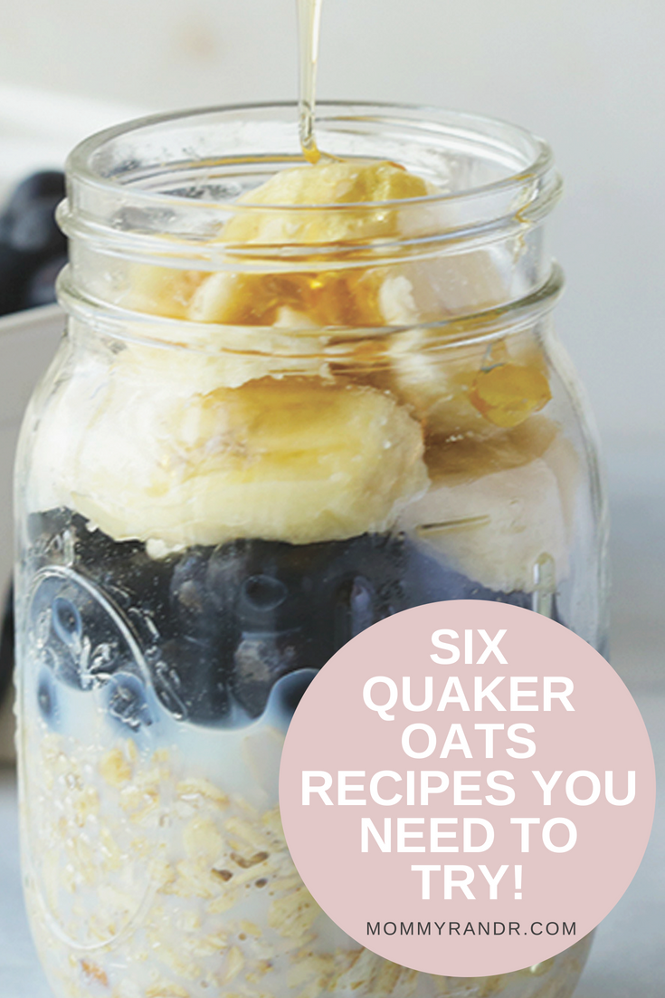 Quaker Old Fashioned Oats mommyrandr valerie pierre