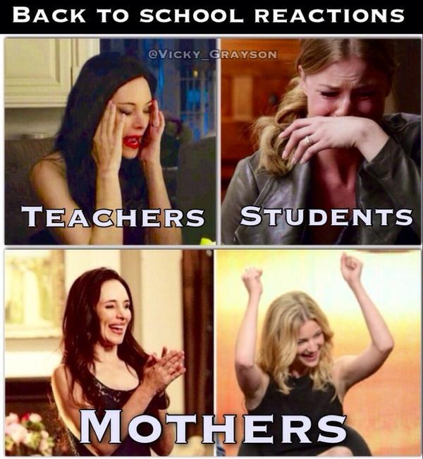 back to school memes mommyrandr valerie pierre