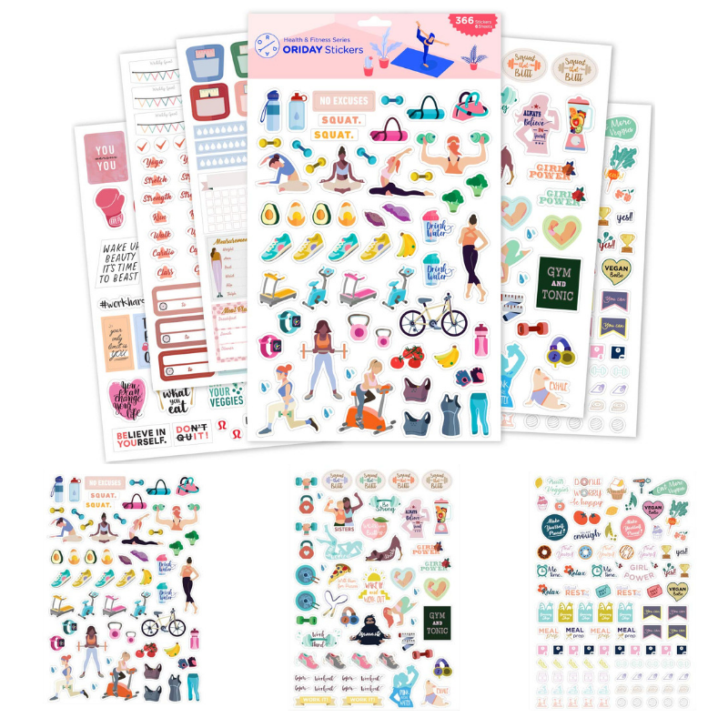 wellness stickers valerie pierre mommyrandr
