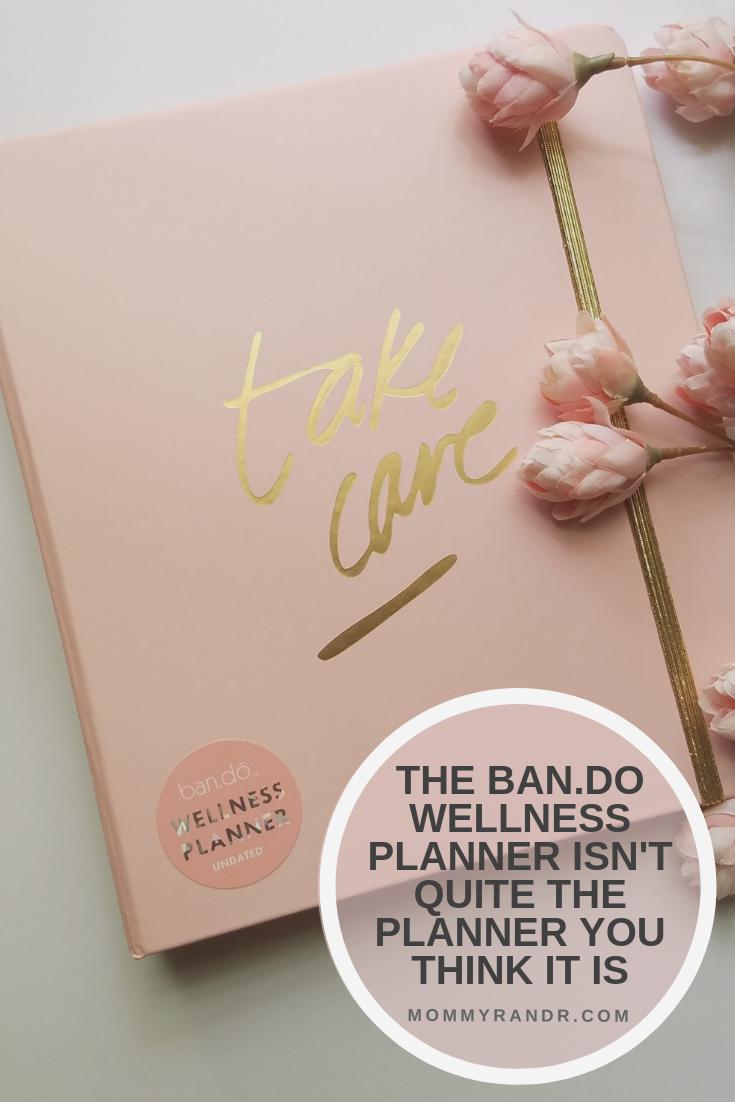 Ban.do Undated Wellness Planner