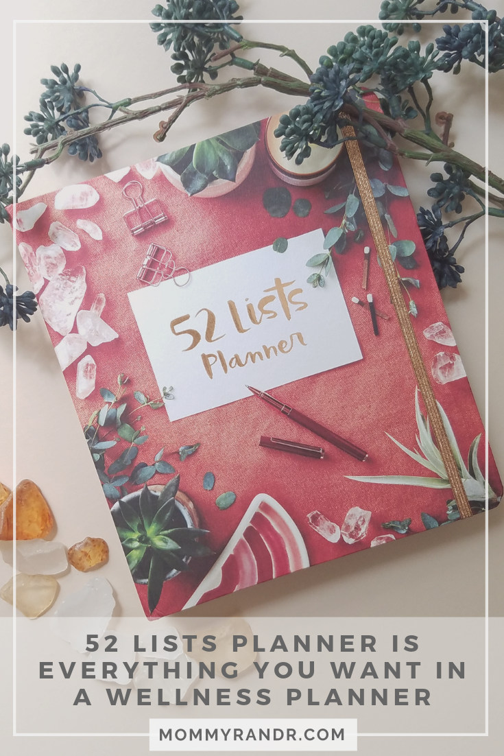 52 Lists Planner wellness planner moorea seal mommyrandr