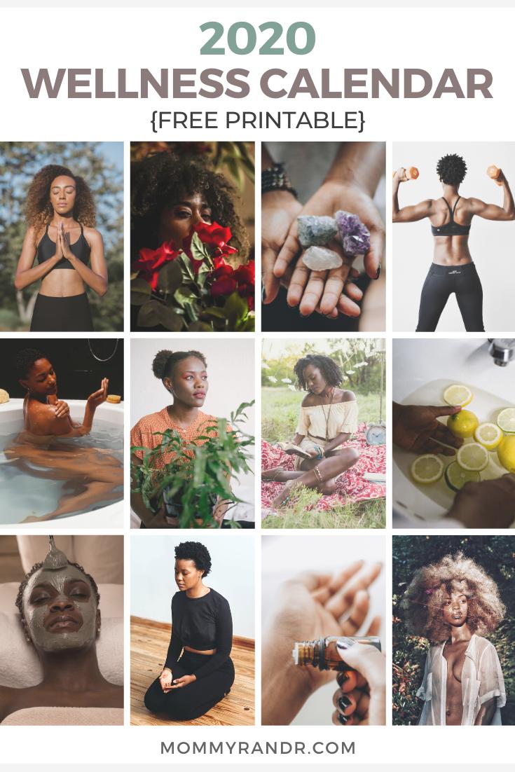 2020 wellness calendar mommyrandr