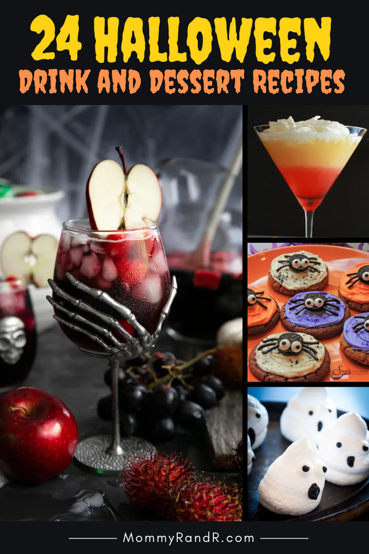 Halloween Drink and Dessert Recipes mommyrandr