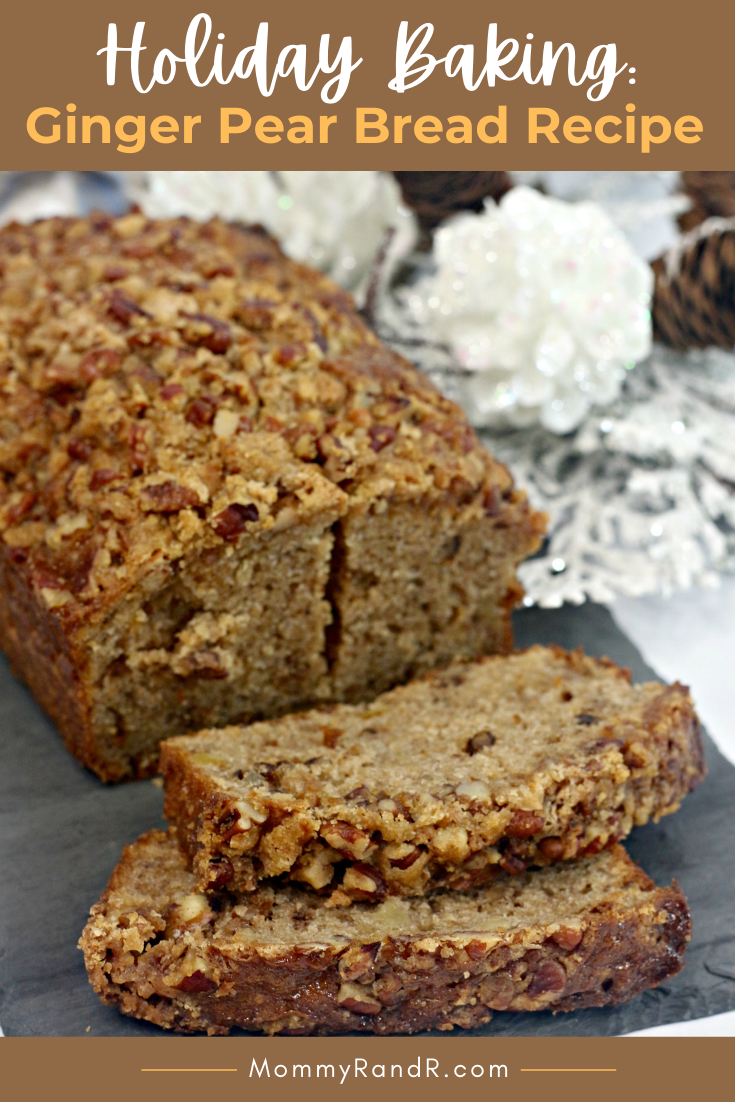 Ginger Pear Bread Recipe mommyrandr