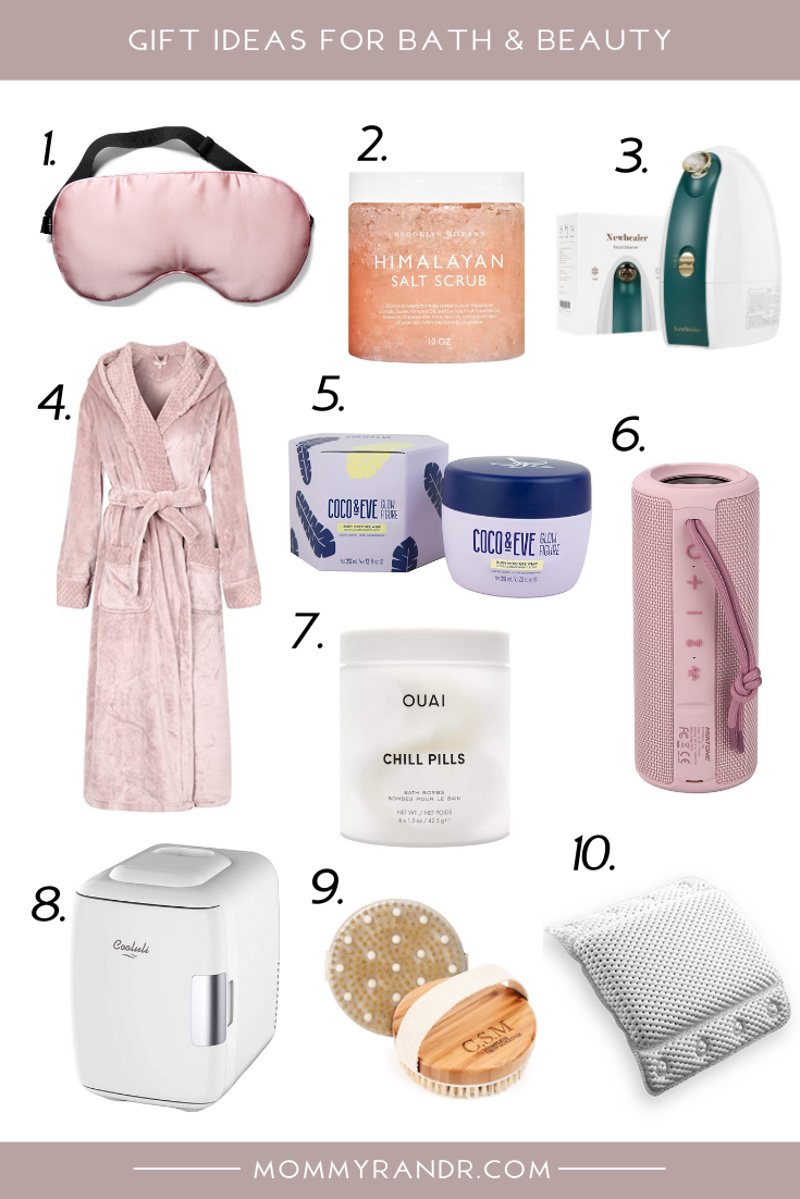 Beauty and Bath Gift Ideas mommyrandr